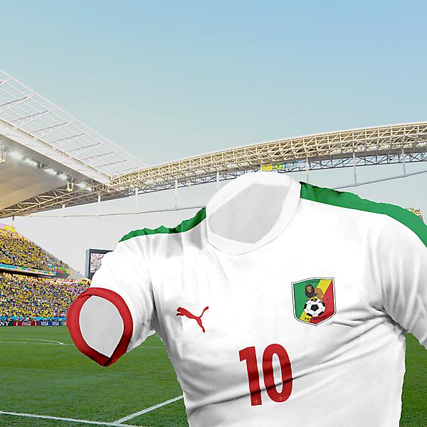 Congo - 4th kit