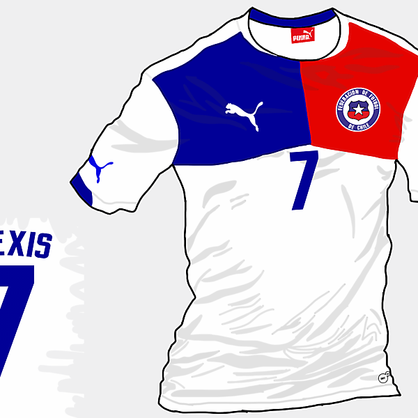 Copa America 2015 - Grupo A - Chile Away