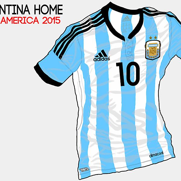 Copa America 2015 - Grupo B - Argentina Home