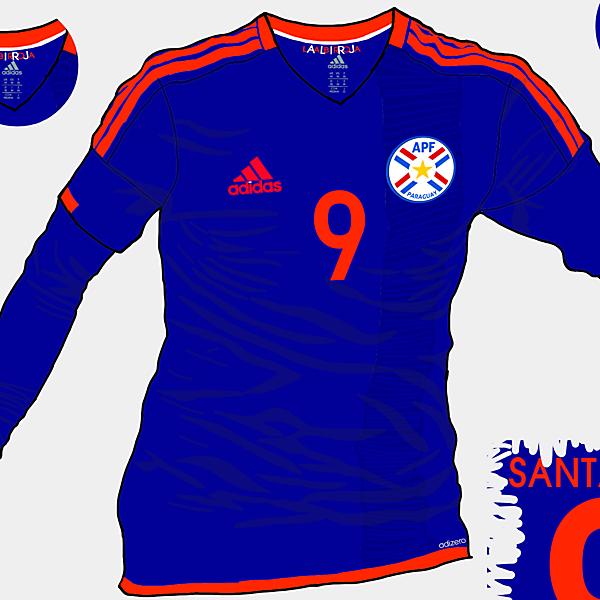 Copa America 2015 - Grupo B - Paraguay Away