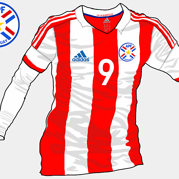 Copa America 2015 - Grupo B - Paraguay Home