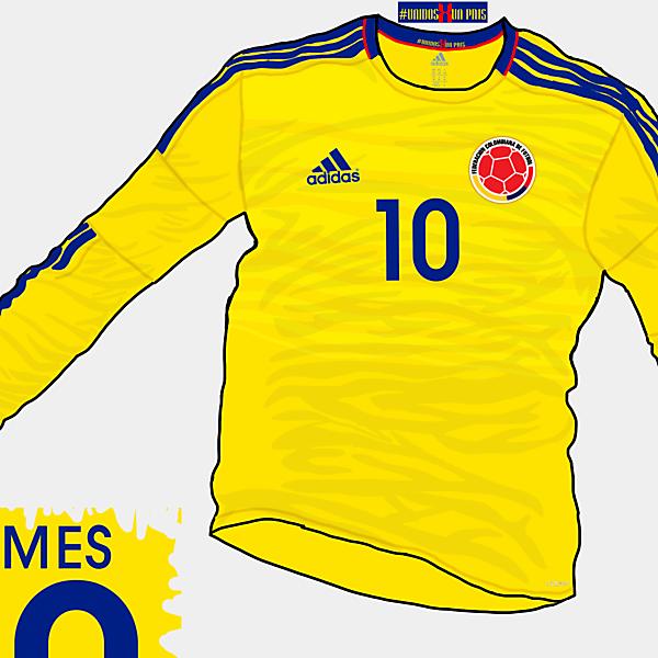 Copa America 2015 - Grupo C - Colombia Home
