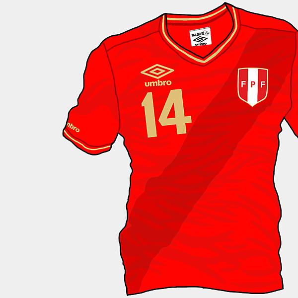 Copa America 2015 - Grupo C - Peru Away