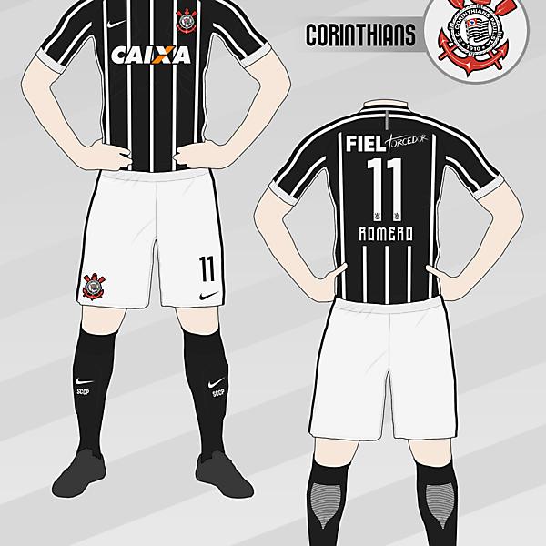 Corinthians 2016-17 Away Kit