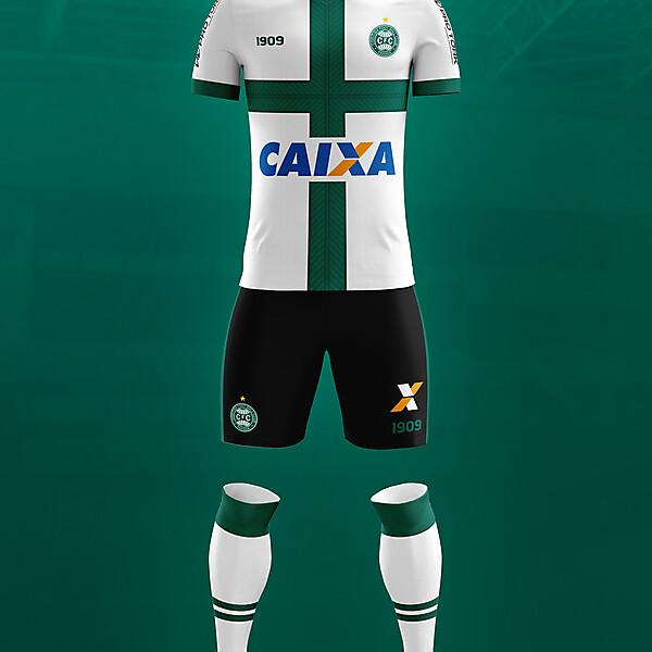 Coritiba - third kit - Contestado flag
