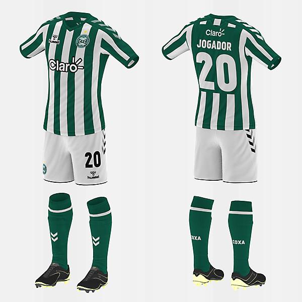 Coritiba (Away/Hummel) (#fbrkits1920)