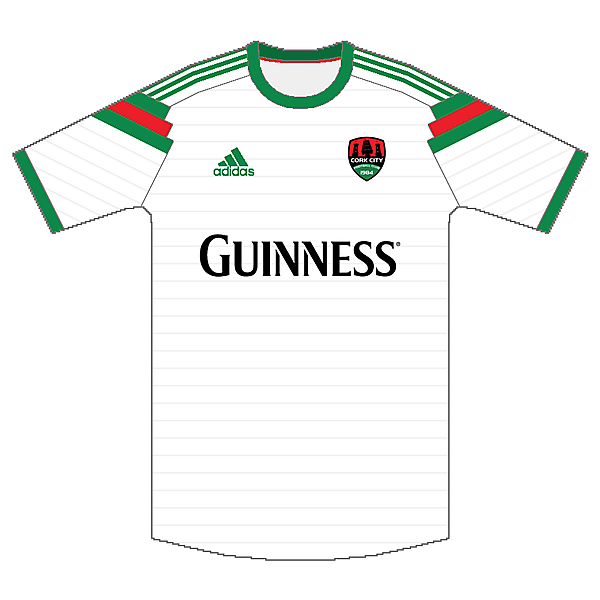 Cork City FC Adidas Home