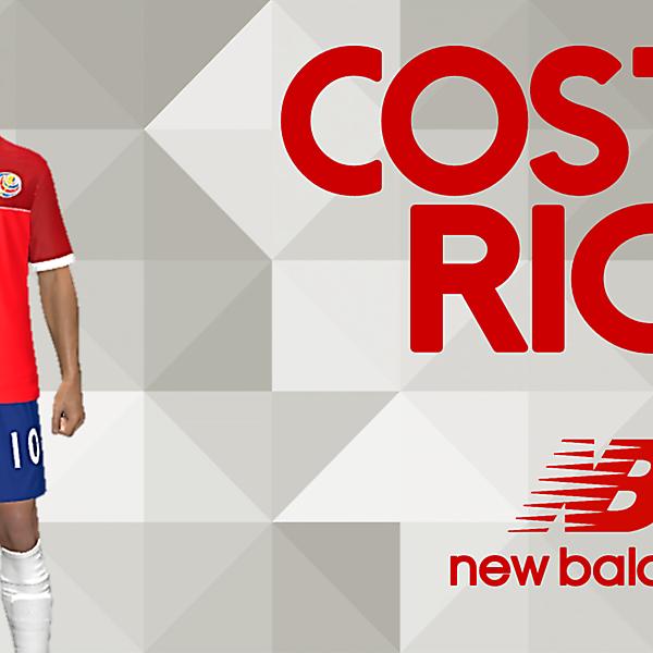 COSTA RICA new balance kit Home (CONCEPT)