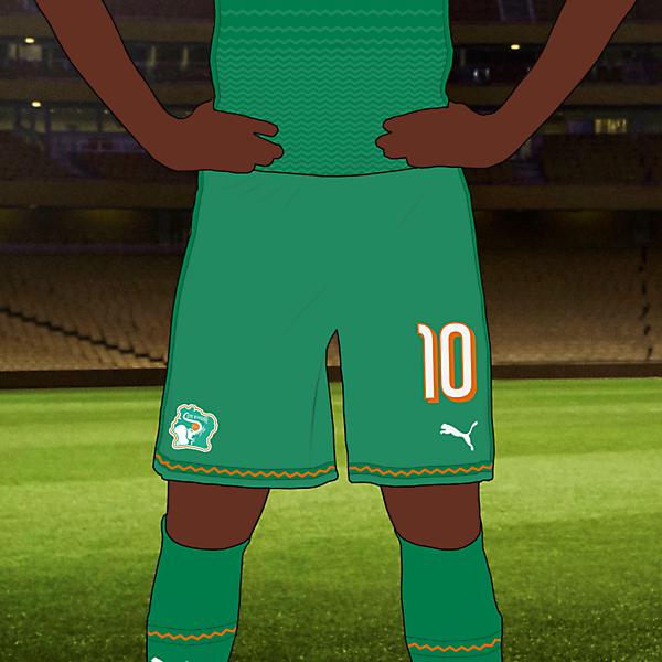 Côte d'Ivoire Away Kit
