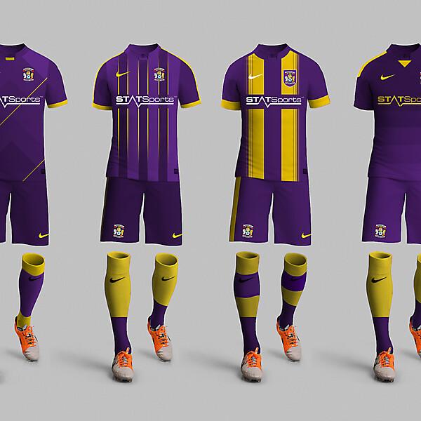 Coventry City Away kit