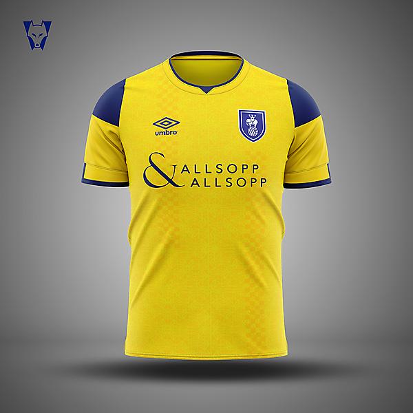 Coventry City x Umbro - away concept