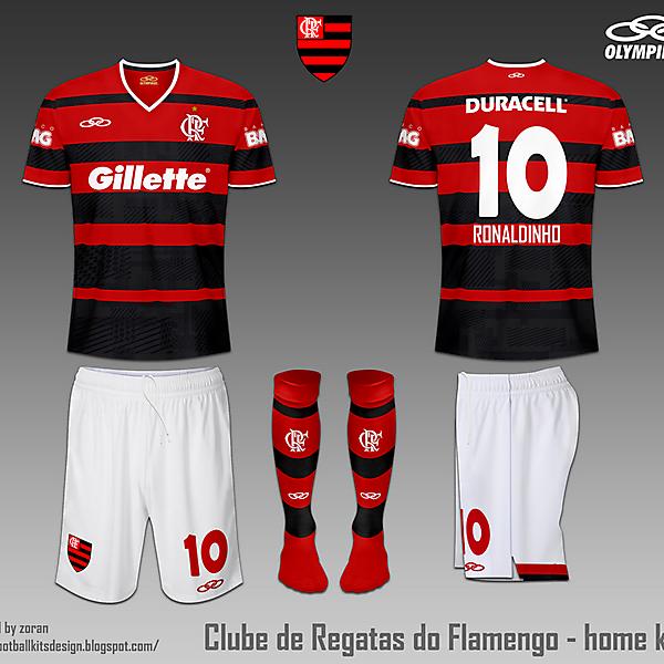 C.R. Flamengo fantasy home and away