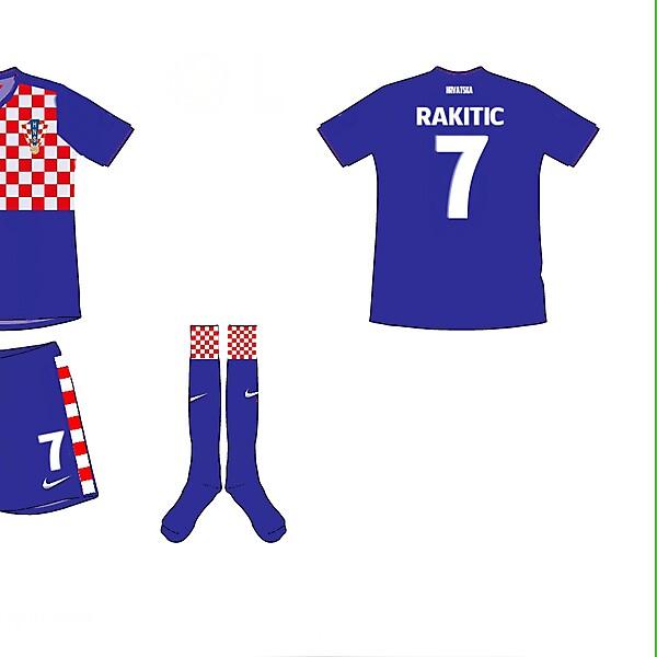 Croatia Away Kit