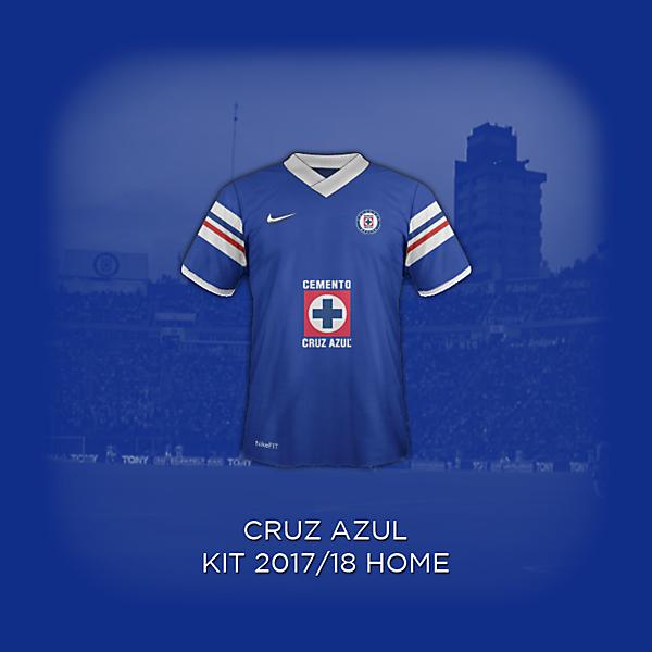 Cruz Azul 2018 Concept Home Kit