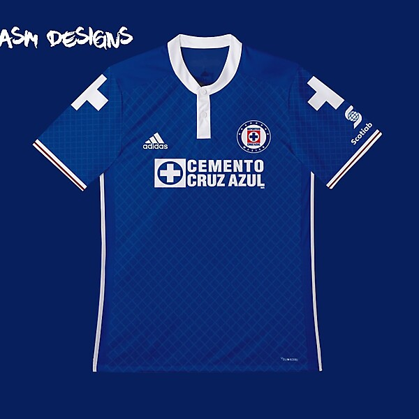 Cruz Azul Adidas 2018 Home Kit