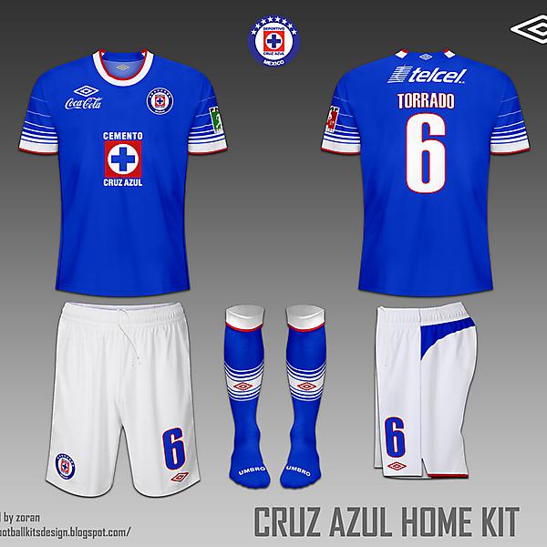 Cruz Azul fantasy home & away