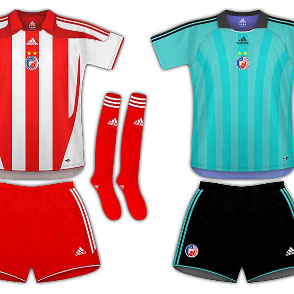Crvena Zvezda(Red Star) - Adidas