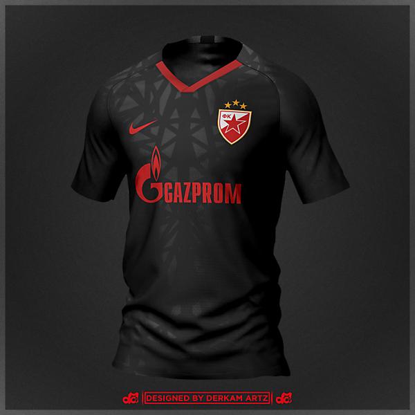 Crvena Zvezda - Away Kit (Red Star Belgrade)