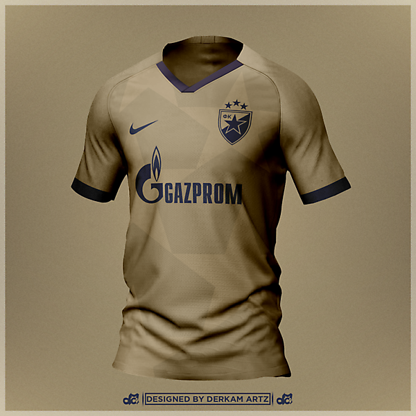 Crvena Zvezda - Third Kit (Red Star Belgrade)