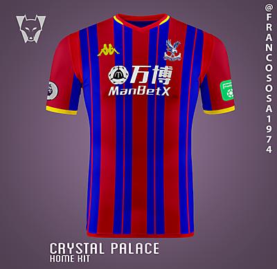 Crystal Palace Kappa home