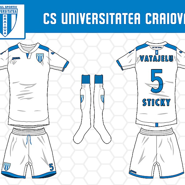 CSU Craiova - Away kit