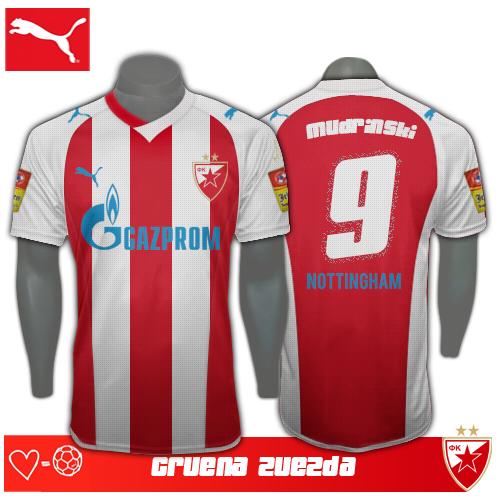 Red Star Belgrade Kit 2013/14