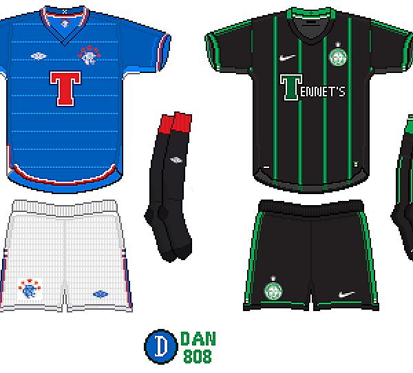 Rangers Home/Celtic Away