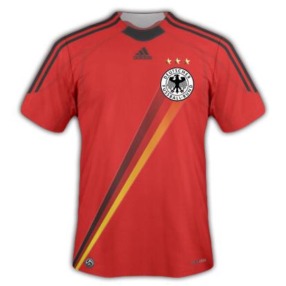 Deutschland RED Away