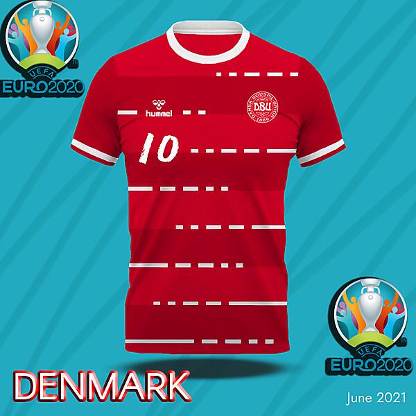 Denmark home shirt concept