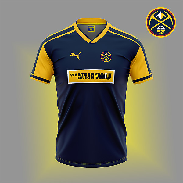 Denver Nuggets. NBA\soccer crossover