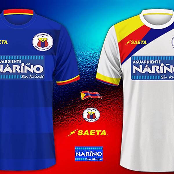 Deportivo Pasto - Saeta Kits