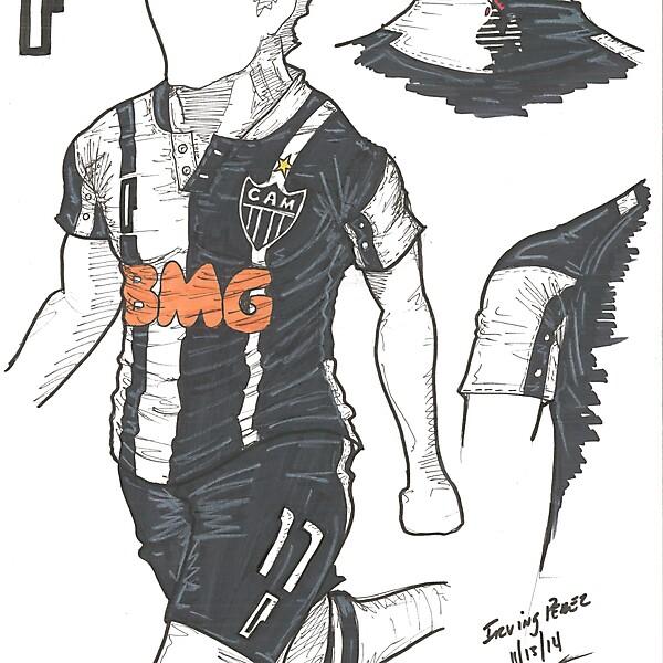 Design Football League - Azure League - MD7 - Atletico Mineiro by Perceni