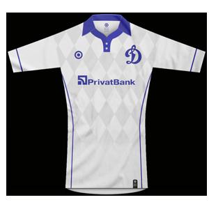 Dinamo Kyiv home kit