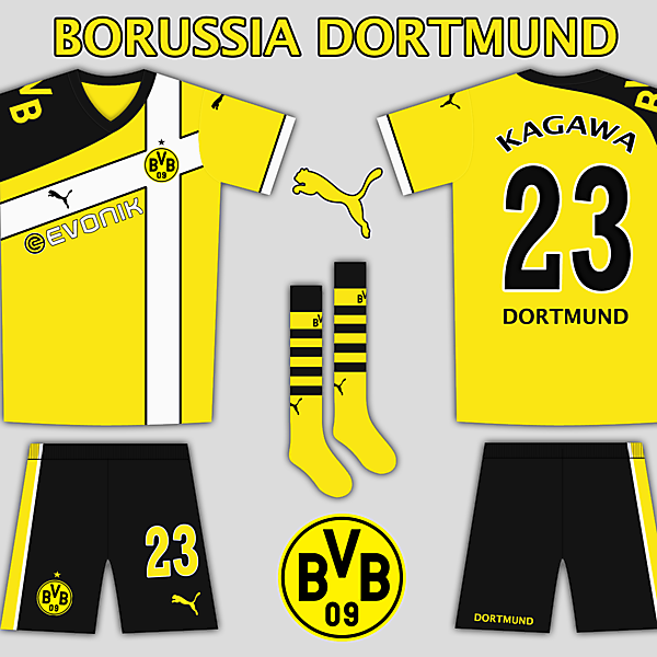 Borussia Dortmund Puma Home