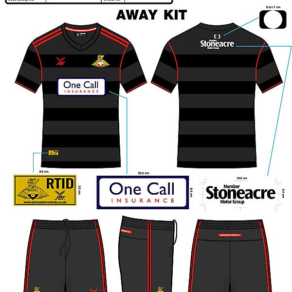 DRFC2016 Away Kit