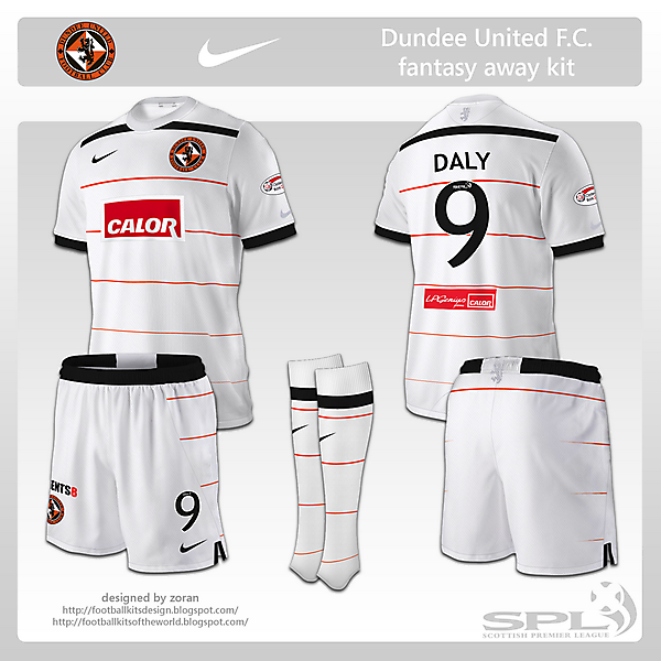Dundee United F.C. fantasy away