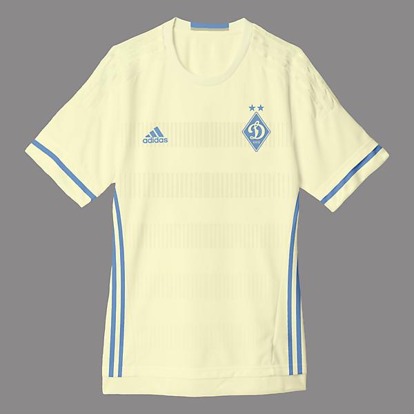 Dynamo Kyiv Away Kit Design