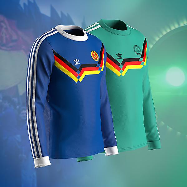 East Germany - Alternative kits