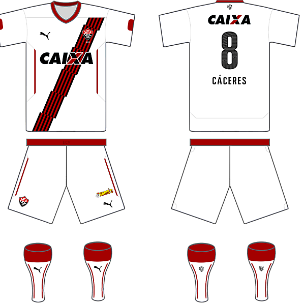 EC Vitoria Puma Away