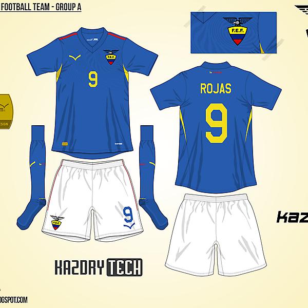 Ecuador Away - Group A, 2015 Copa América