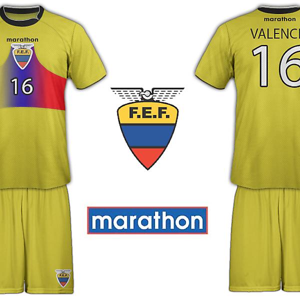Ecuador Marathon Home Kit