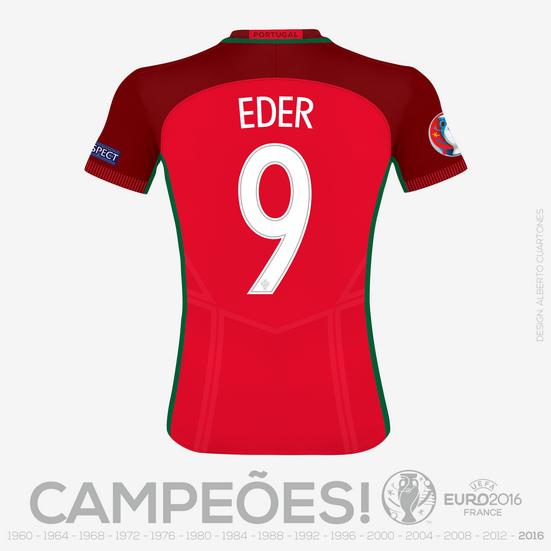Portugal UEFA EURO 2016™ Eder printing