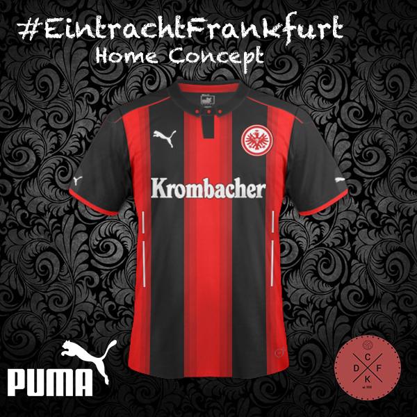 Eintracht Frankfurt Home Puma Concept
