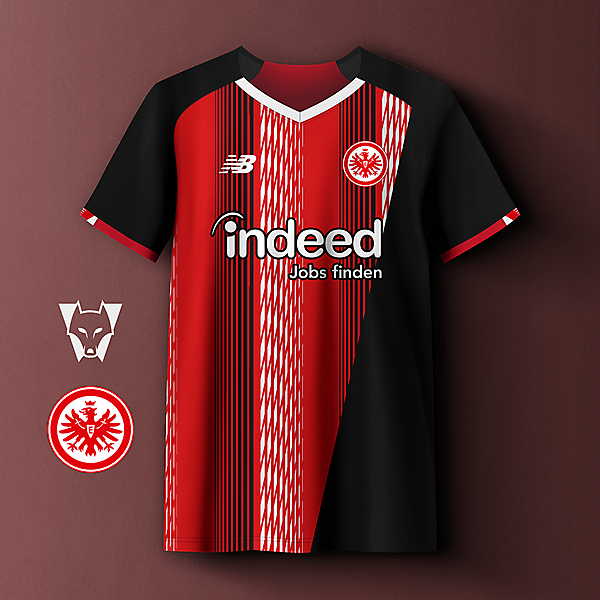 Eintracht Frankfurt x NB home concept