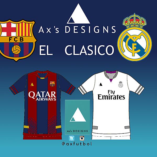 El clasico. Barça vs R. Madrid