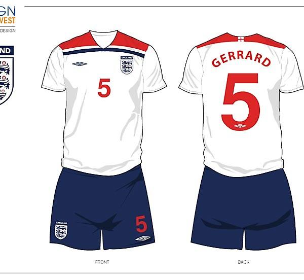 Fantasy England Football Kit