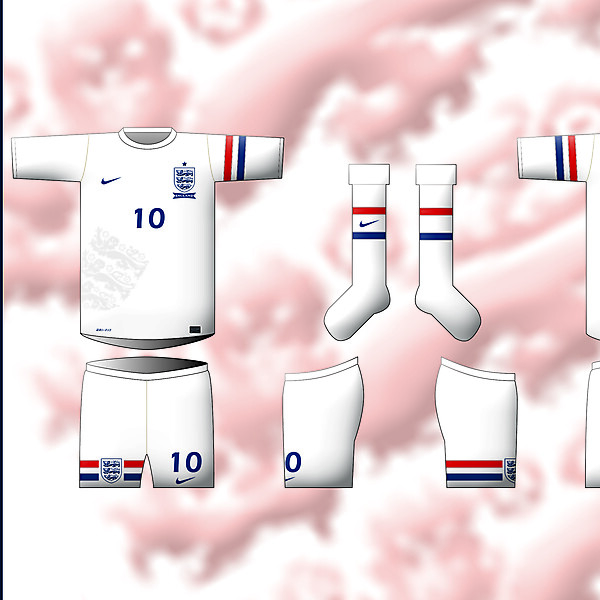 ENGLAND - Home Kit By Nike