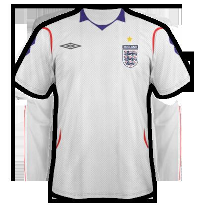 England Home Shirt