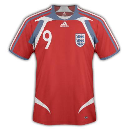 My England 2011-13 away kit