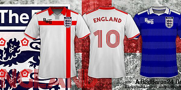 England 2014/2015 Concept Kits